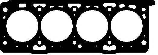 Прокладка, головка цилиндра ELRING 710.380