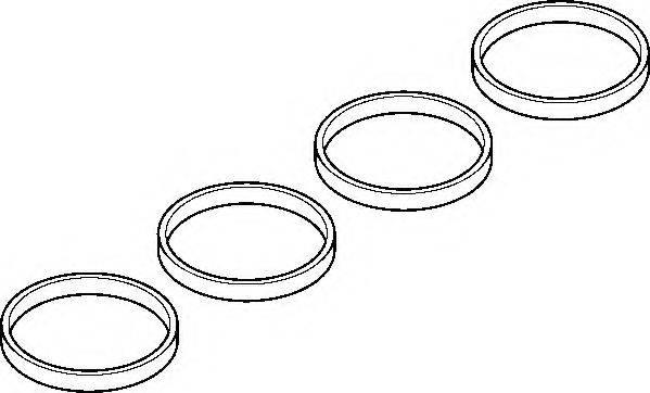 Комплект прокладок, впускной коллектор ELRING 007.051