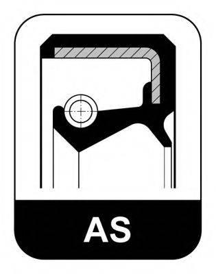 Уплотнительное кольцо; Уплотняющее кольцо вала, рулевой механизм ELRING 007.552