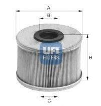 Топливный фильтр UFI 26.686.00