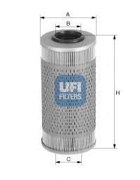 Топливный фильтр UFI 26.687.00