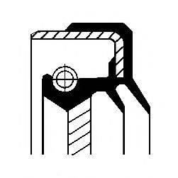 Уплотняющее кольцо, дифференциал CORTECO 01035893B