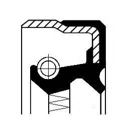 Уплотнительное кольцо CORTECO 01017776B