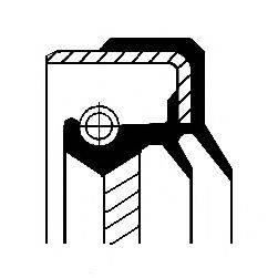 Уплотняющее кольцо, раздаточная коробка CORTECO 01034861B