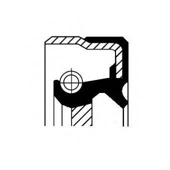 Уплотняющее кольцо, ступенчатая коробка передач CORTECO 01019481B