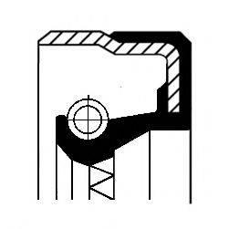 Уплотняющее кольцо, раздаточная коробка CORTECO 01036457B