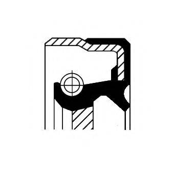 Уплотняющее кольцо, дифференциал CORTECO 01033752B