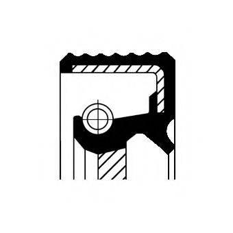 Уплотняющее кольцо, ступенчатая коробка передач CORTECO 01033869B