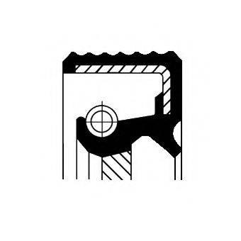Уплотняющее кольцо, ступенчатая коробка передач CORTECO 01032053B