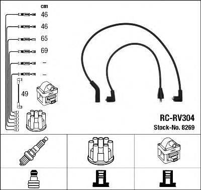 Комплект проводов зажигания NGK 8269