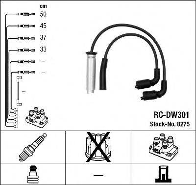 Комплект проводов зажигания NGK 8275