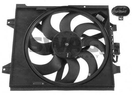 Вентилятор, охлаждение двигателя SWAG 70 93 7167