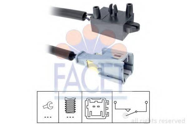 Выключатель, привод сцепления (Tempomat) FACET 7.1210
