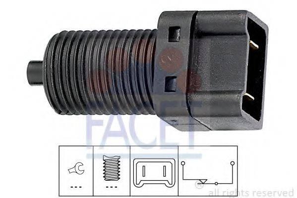 Выключатель фонаря сигнала торможения FACET 7.1075