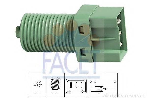 Выключатель фонаря сигнала торможения FACET 7.1131