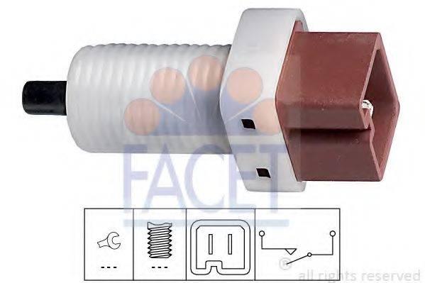Выключатель, привод сцепления (Tempomat) FACET 7.1192