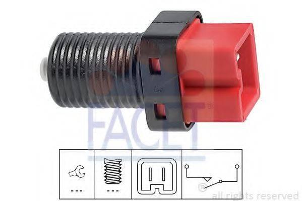 Выключатель фонаря сигнала торможения FACET 7.1187
