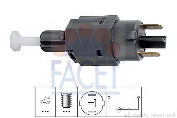 Выключатель фонаря сигнала торможения FACET 7.1098