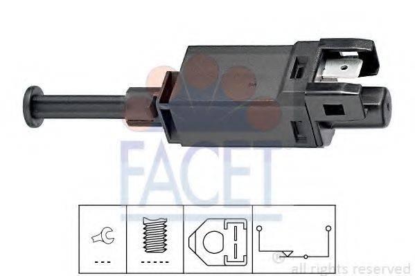 Выключатель фонаря сигнала торможения FACET 7.1055