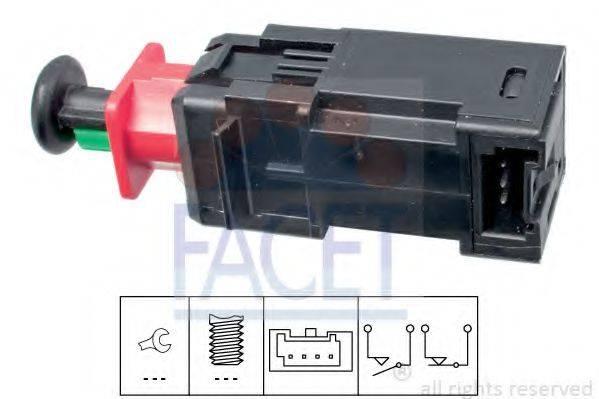 Выключатель фонаря сигнала торможения FACET 7.1208