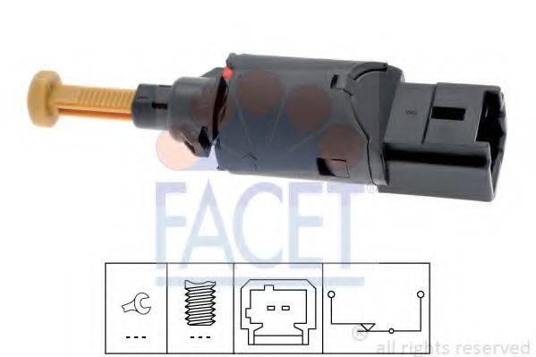 Выключатель фонаря сигнала торможения FACET 7.1194