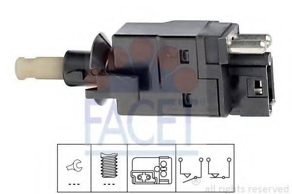 Выключатель фонаря сигнала торможения FACET 7.1088