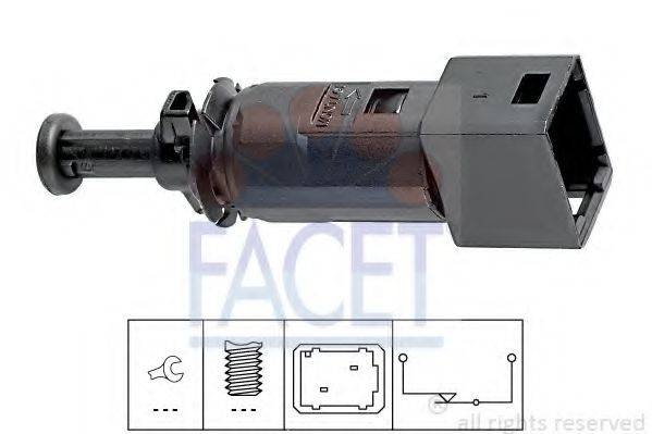 Выключатель фонаря сигнала торможения FACET 7.1148