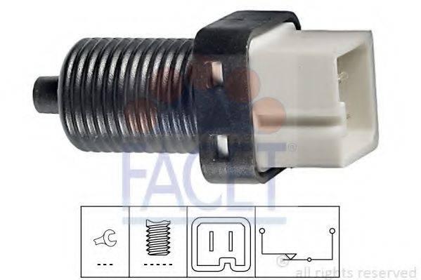 Выключатель фонаря сигнала торможения FACET 7.1091