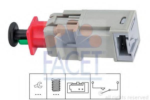 Выключатель, привод сцепления (Tempomat) FACET 7.1207