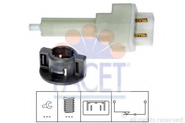 Выключатель фонаря сигнала торможения FACET 7.1129