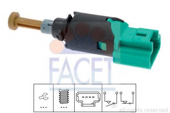 Выключатель фонаря сигнала торможения FACET 7.1213