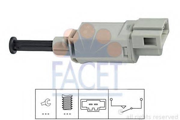 Выключатель, привод сцепления (Tempomat) FACET 7.1152