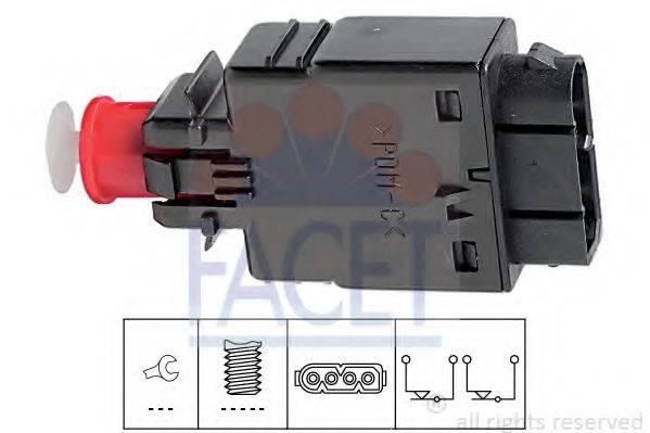 Выключатель фонаря сигнала торможения FACET 7.1081