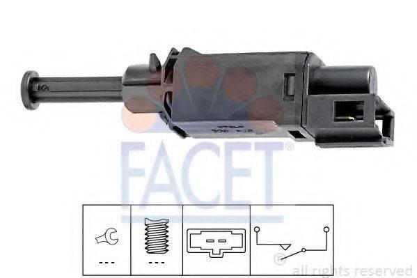 Выключатель, привод сцепления (Tempomat) FACET 7.1143