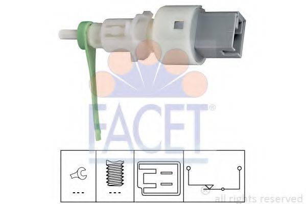 Выключатель, привод сцепления (Tempomat) FACET 7.1159