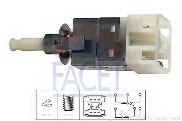 Выключатель фонаря сигнала торможения FACET 7.1206
