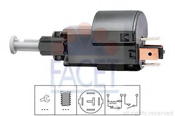 Выключатель фонаря сигнала торможения FACET 7.1156