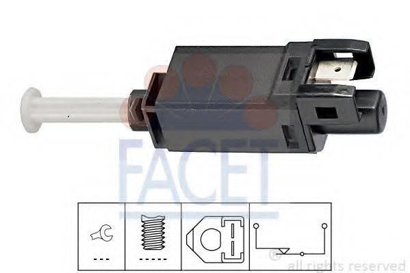 Выключатель фонаря сигнала торможения FACET 7.1056