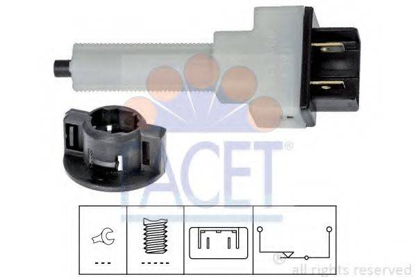 Выключатель фонаря сигнала торможения FACET 7.1080