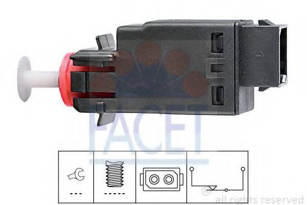Выключатель фонаря сигнала торможения FACET 7.1058