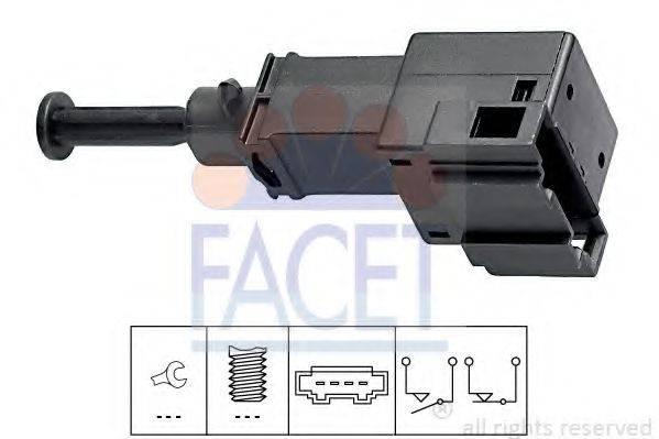 Выключатель фонаря сигнала торможения FACET 7.1151