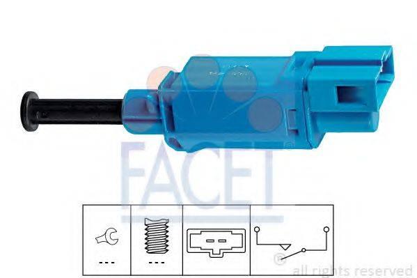 Выключатель фонаря сигнала торможения; Выключатель, привод сцепления (Tempomat) FACET 7.1142
