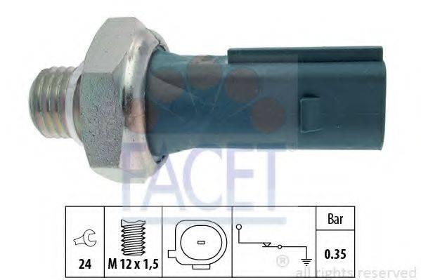 Датчик давления масла FACET 7.0177