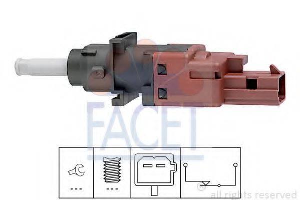 Выключатель, привод сцепления (Tempomat) FACET 7.1170