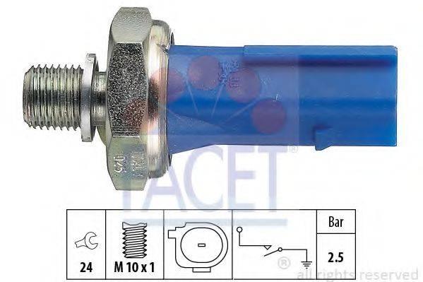 Датчик давления масла FACET 7.0192