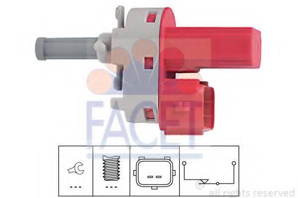 Выключатель, привод сцепления (Tempomat) FACET 7.1171
