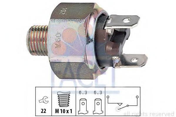 Выключатель фонаря сигнала торможения FACET 7.1102