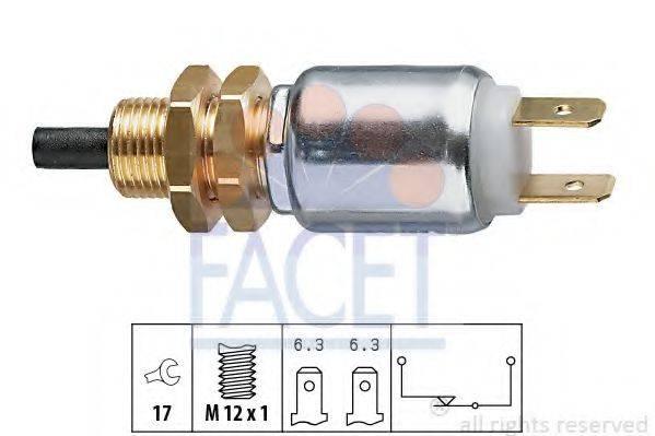 Выключатель фонаря сигнала торможения FACET 7.1014
