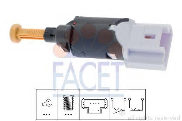 Выключатель фонаря сигнала торможения FACET 7.1197