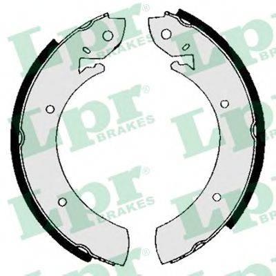 Комплект тормозных колодок LPR 01150